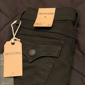Black True Religion Jeans